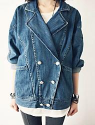 SHOPCARA Denim Fashion Jacket