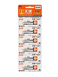 TMMQ AA 1.5V High Capacity Mercury-free Batteries (6pcs)