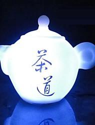 coway o bule de sete cores levou noturna arte de chá chinês