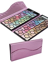 Professional 100 Color Rose Glitter Eyeshadow  Palette Cosmetic Set with Luxury Evening Party Bag