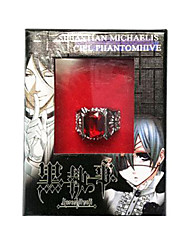 KuroShitsuji Ciel Phantomhive Ruby Ring Black Butler Cosplay Accessory