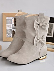 Suede Women's Flat Heel   Fashion Boots Ankle Boots (More Colors)