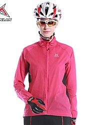 MYSENLAN Women's Windproof Rainproof Long Sleeve Cycling Wind Coat