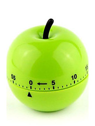 60 mins Apple Shaped Mechanical Kitchen Timer Cooking Count Down