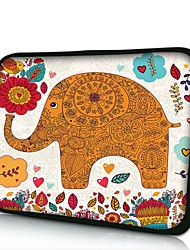 Elonno Flowers and Elephan Neoprene Laptop Sleeve Case Bag Pouch Cover for 7'' Samsung Galaxy Tab iPad Mini