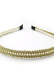 Beautiful Hand-woven Double-Gold Hair Accessories Hair Bands