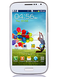 "S4 5.0 "" Android 2.3 3G Smartphone (Dual SIM Single Core 2 MP 256MB + 4 GB Black / White)"