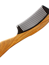 Black Horn Sandalwood Comb