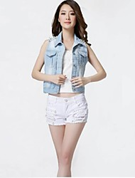 Women's New Fashion Top Grade Sexy Short Jeans