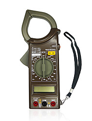 MASTECH M266C Digital AC Clamp Meter DC Voltage Resistance Tester Detector with Diode