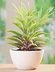Delicate Plastic Simulation of Potted Plant