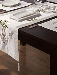 Chemin de table Chemin de table broderie classique 15 * 50''