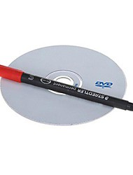 Permanent Red Ink Disc CD Marker Pen (Black)