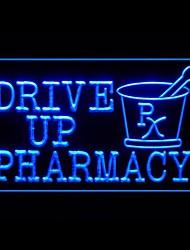 Drive Up Pharmacy Advertising LED Light Sign