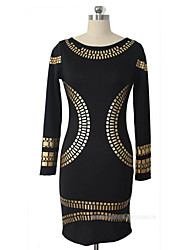 Women's Party Fitted Bring Bring Mini Dresses