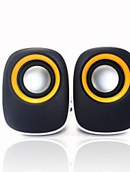 FS-34 Elegante Hi-Fi estéreo com fio PC Speaker