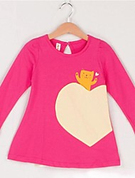 Girl's Bear Pocket T-shirts