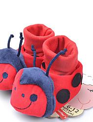 шерсть детские плоским пятки комфорта бездельники обувь
