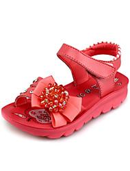 Sandales ( Rouge ) - Simili Cuir - Confort