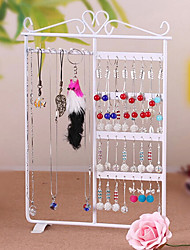 Classic Earrings Jewelry Wall-mounted Stand Multicolor Alloy Jewelry Displays(1 Pc)(More Color)