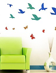Vinyl Flying Pigeon Wall Stickers Wall Decals