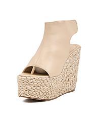 IPIEN Slipsole Sandal (Beige)