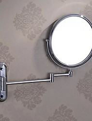 Wall-Mounted Type Modern Style Stainless Steel Make Up Mirror