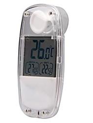 Indoor & Outdoor 1.5'' LCD Solare Termometro - Bianco TS-W32