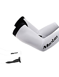 MONTON 2014 New White MTB Cycling Arm Sleeve Oversleeves