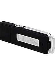 4 Go USB Flash Drive Pen Audio Enregistreur vocal numérique 15 heures d'enregistrement. Pen voix. Enregistrement disque U