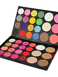 Professional 44 Color Makeup Palette Eye Shadow / Foundation Cosmetic Set