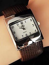 grande relógio cinto moda feminina magníficos