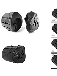 Universal International Travel  2.5A AC Adapter for Power Plug UK US AU EUROPE