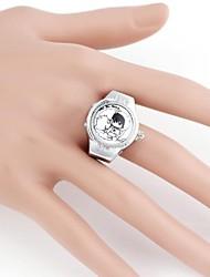 Cute Cartoon metallo Ragazza analogico al quarzo dell'anello Watch (1pc)