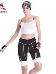 mysenlan női kerékpáros nadrág nylon spandex piros 1/2 nadrág
