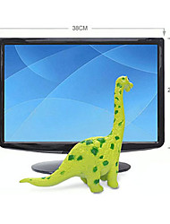 Brachiosaurus Dinosaurier-Modell Rubber Action-Figuren Spielzeug (Grün)