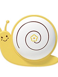 QiDu Strange New American Standard Plug with Very Cartoon Led Plug-in Electric Small Night Light(The Snail Yellow)