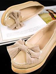 женские платформа пятки круглые бездельники носок обуви