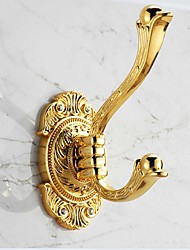 Gold-painting Stainless Steel Material Robe Hooks