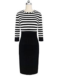 LiShang Stripes Dress