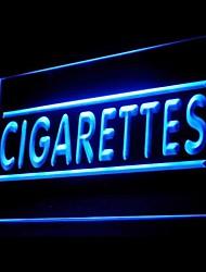 Zigarette inhalieren Werbung LED-Licht-Zeichen