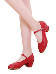 Women's Leather Upper Ballroom Dance Shoes Heels (More Colors)