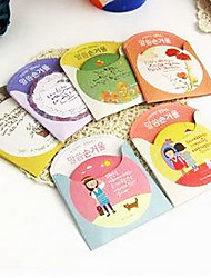 1 Pcs Portable Tinplate And Lovely Cartoon Cosmetic Small Mirror