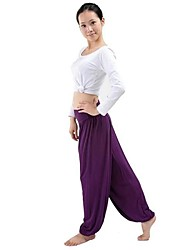 Women's Fashion Yoga Hippie Baggy High Waist Stretch Trousers/ Pants