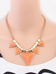 геометрическая конфеты цвет ожерелья Welly женщин