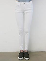 Nouveau mode moulantes Casual Pantalon cigarette des femmes