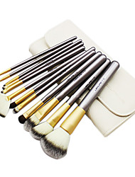 12 Pcs Profession And Colourful Set Cosmetic Brush