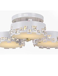 Max 60W Flush Mount ,  Modern/Contemporary Painting Feature for Crystal / LED Metal Living Room