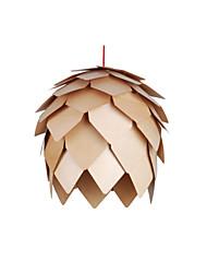 40W-60W Lanterne LED Autres Bois/Bambou Lampe suspendue Salle de séjour / Chambre à coucher / Salle à manger
