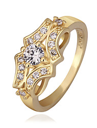 Meles Classical Gold Butterfly Pattern Ring
